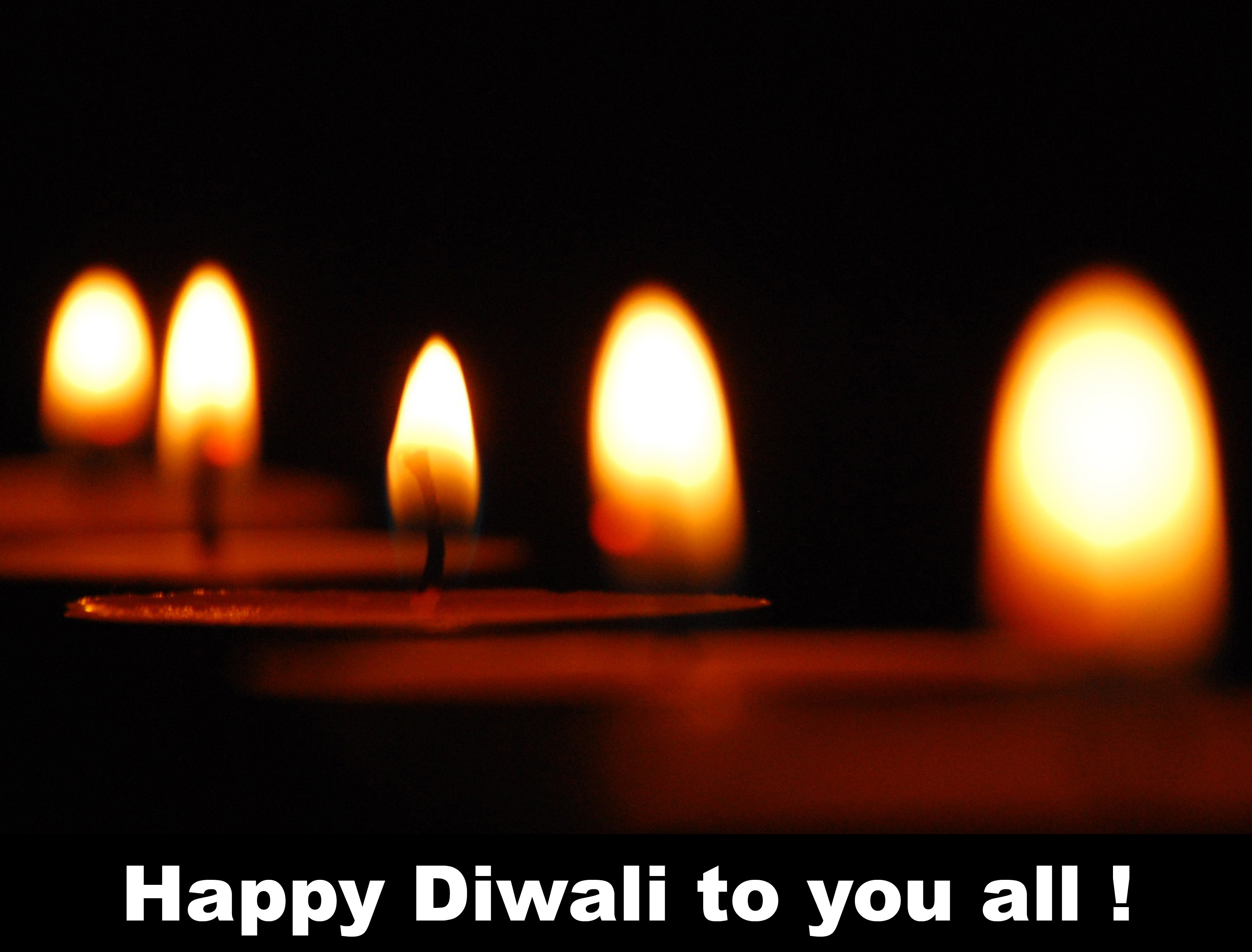Happy Diwali to you all !
