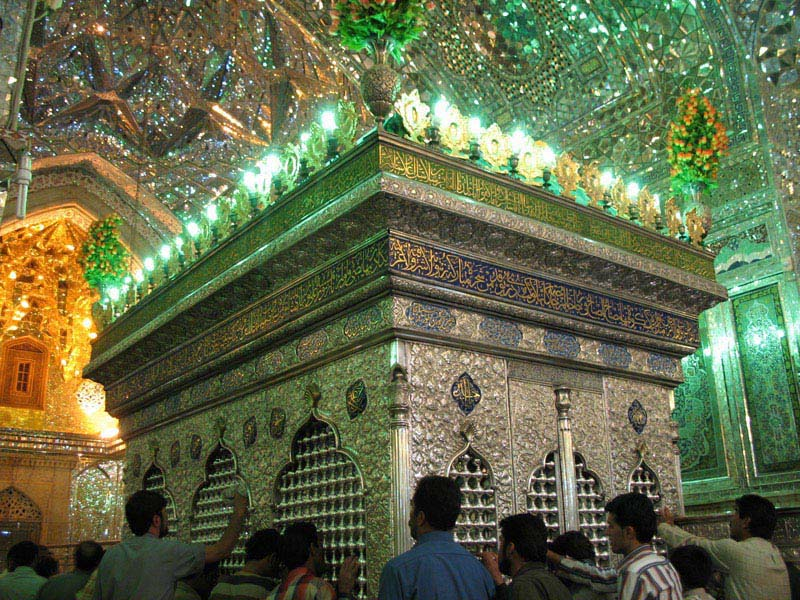 Aramgah-e Shah-e Cheragh, le « Holy Shrine » (photo Ali Reza Yaghoobi)